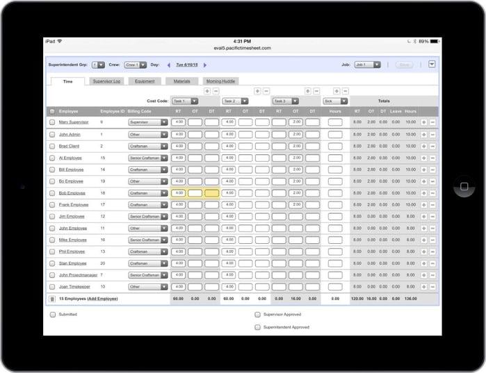 pacific-timesheet-crew-timesheet-ipad-tablet