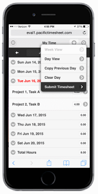 Pacific Timesheet Mobile Time & Expense Tracking
