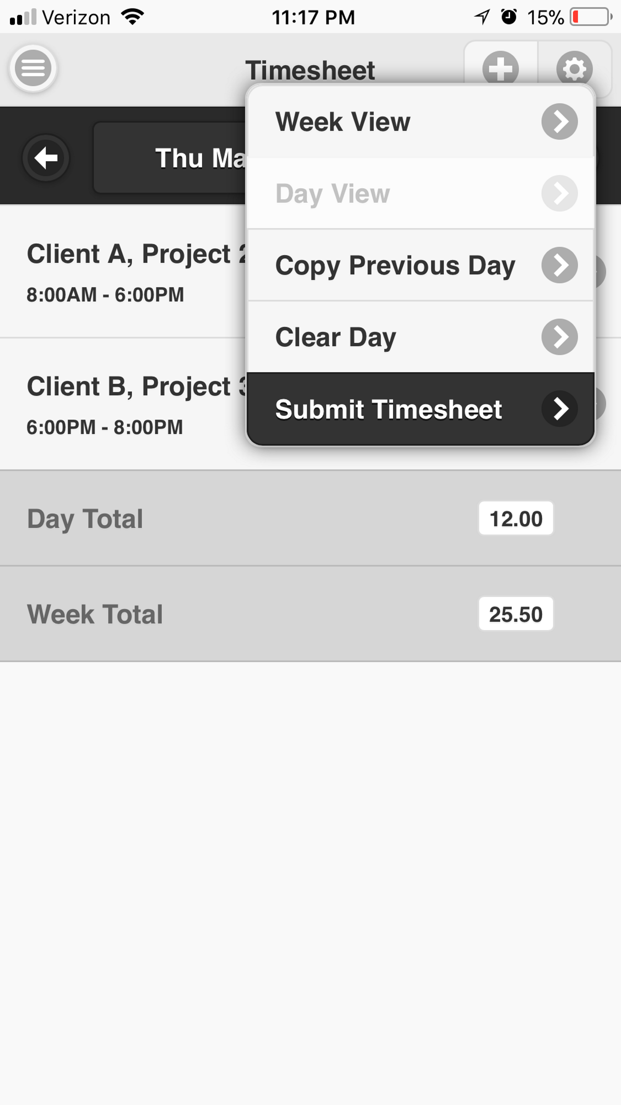 timesheet-menu-options